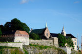 Close up Akershus Fortress — Stock Photo