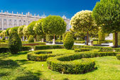 Royal Gardens in Madrid — Stock Photo
