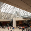 Stock Photo: Louvre Art Museum