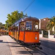 Tramway at Port de Soller — Stock Photo