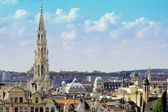 Brussels city view — Stock Photo