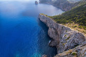Cape Formentor in the coast of Mallorca — Foto Stock