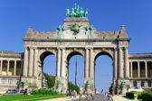 Parc du Cinquantenaire — Stock Photo