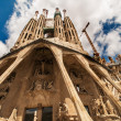SagradFamiliwide angle — Stock Photo #13413757