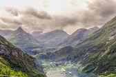 Fin du fjord de geiranger — Photo