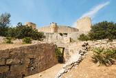 Bellver Castle Castillo tower in Majorca at Palma de Mallorca — Stock Photo