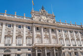 Royal Palace at Madrid — Foto Stock