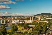 Oslo cityscape — Stock Photo