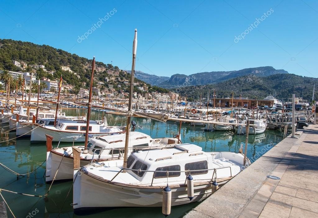 View of Palma de Mallorca in Majorca Balearic islands Spain  Stock Photo #13863367