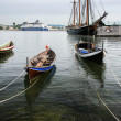 Stock Photo: Wooden boats in Fjord