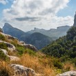 Foto Stock: Mallorcmountain view Spain