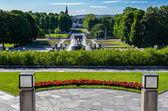 Vigeland park view — Stock Photo