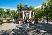 Pomnik johana halvorsen — Zdjęcie stockowe