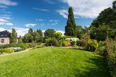 Jardín botánico en oslo noruega en verano — Foto de Stock