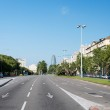 Street view in Madrid Spain — Stock Photo