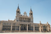 Almudena Cathedral Madrid, Spain — Stock Photo