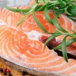 Salmon stake — Stock Photo #14867385
