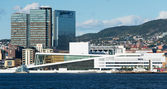 View on the National Oslo Opera House — Stock Photo