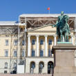 Royal palace Oslo - Stock Photo