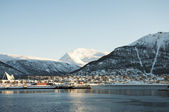 Panorama of Tromso Norway — Foto Stock