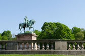 King Carl XIV Johan Statue in Oslo — Stock Photo