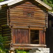 Log house - Stock Photo