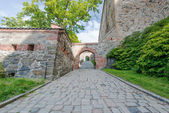 View on Akershus Fortress in Oslo — Stock Photo