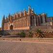 Royalty-Free Stock Photo: Cathedral of Palma de Majorca at evening