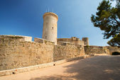 Castle at Palma de Mallorca — Stockfoto