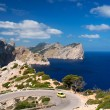 Stock Photo: Car on road near cape Formentor