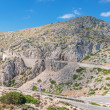 Stock Photo: Road near cape Formentor in Mountains