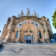 Stock Photo: Church BarcelonHDR