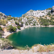 Stock Photo: Mountain lake in Mallorca