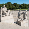 Vigeland statues detail — Stock Photo