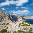 Stock Photo: Road near cape Formentor