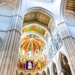Stock Photo: Almudencathedral interior vertical