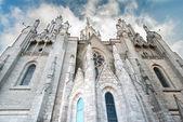 スペイン バルセロナ大聖堂ビュー — ストック写真