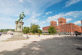 Oslo City Hall square — Stock Photo