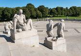 Vigeland statues detail — Stock Photo