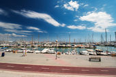 Marina at Palma de Mallorca Spain — Stock Photo