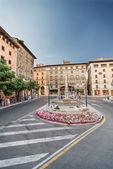 Square in Palma de Mallorca — Stock Photo