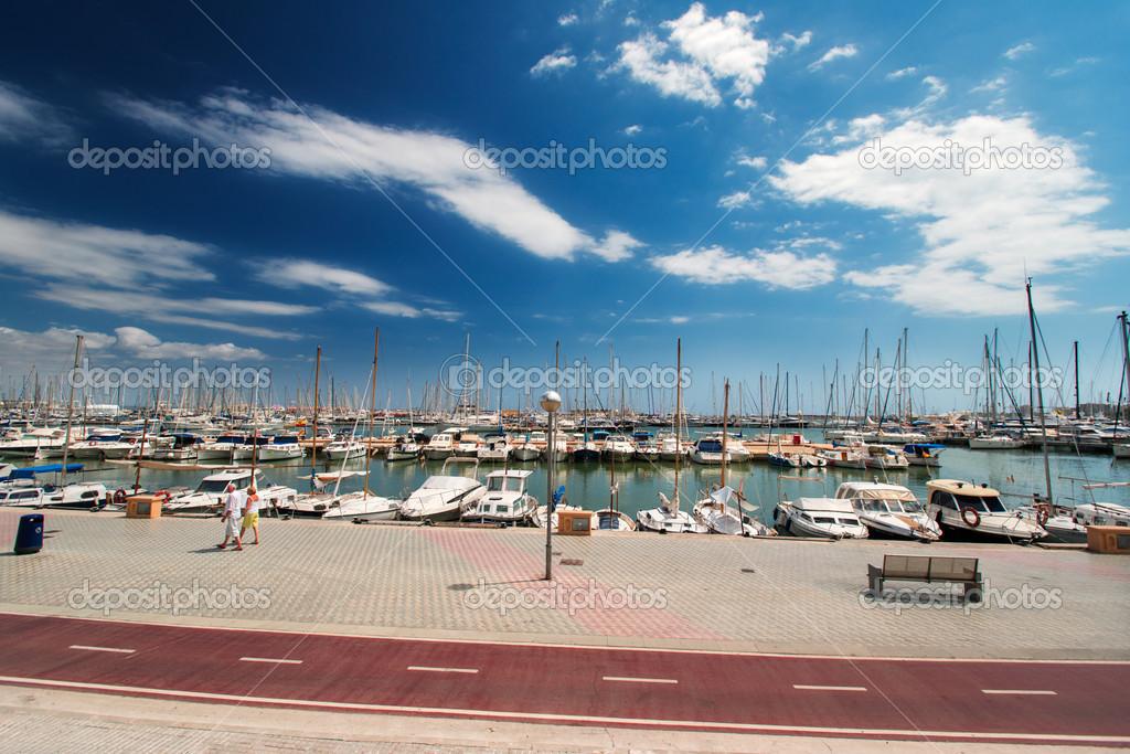Puerto deportivo de palma de mallorca espa a foto - Fotografia palma de mallorca ...