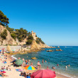 Lloret de Mar beach — Stock Photo #16488579