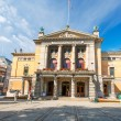Nationaltheatret or The National Theater in Oslo Norway - Stock Photo