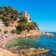 Lloret de Mar beach — Stock Photo