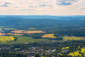 Panoramic view near Oslo Norway — Stock Photo