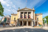 Nationaltheatret or The National Theater in Oslo Norway — Stock Photo
