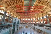 Ulusal sanat müzesi iç — Stok fotoğraf