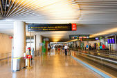 Palma de Mallorca Airport hall — Stock Photo