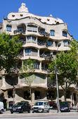 Casa mila aka la pedrera-barcelona-spanien — Stockfoto